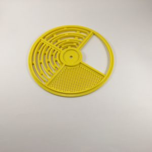 Disc 4 Pos Rotating, Yellow
