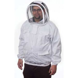 Beekeeper Jacket, Heavy Duty w/ Fencing Veil
