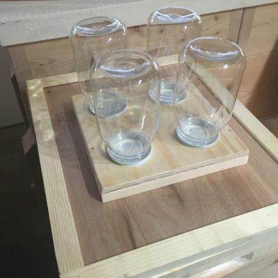 Feeder Top, Four Jar