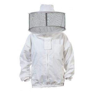 Beekeeper Jacket, Heavy Duty w/Round Veil