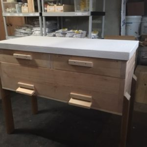Long Langstroth Hive, Double Without Screened Bottom