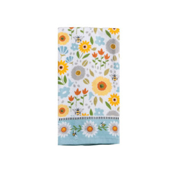 Garden Bee Towel