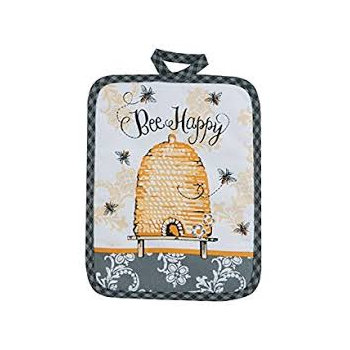 Bee Happy Potholder