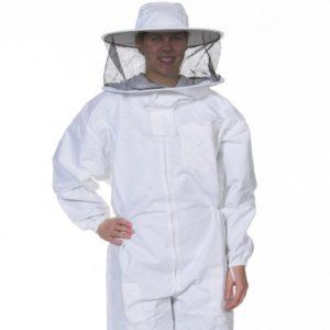 Beekeeper Suit, Heavy Duty w/Round Veil