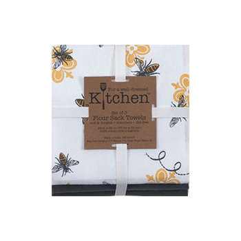 Queen Bee Flour Sack Towels