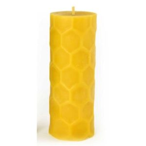 2×6 hexagon pillar candle