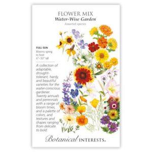 Flower Mix water-Wise Garden