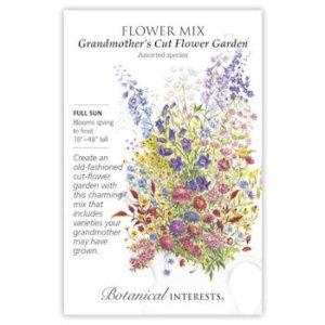 Flower Mix Grandmother's Cut Flower Garden