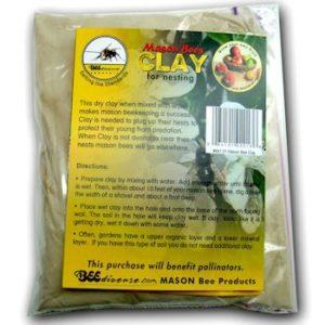 Mason Bee nesting clay
