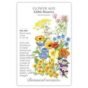 Flower Mix Edible Beauties