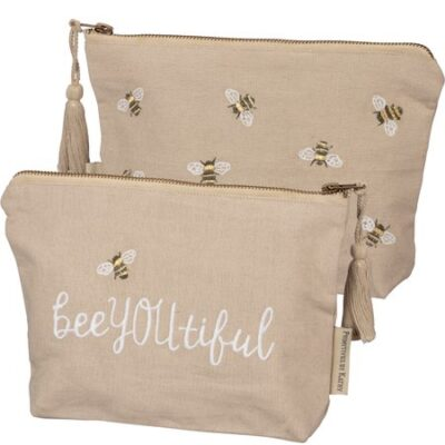 Bee You Tiful Zipper Pouch