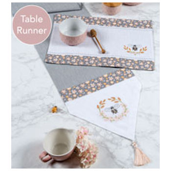 Bee Inspired Table Runner
