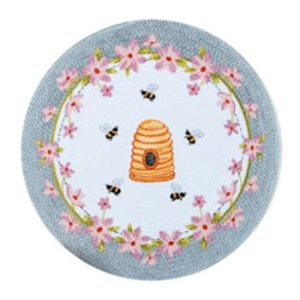 Bee Inspired Braided Placemat