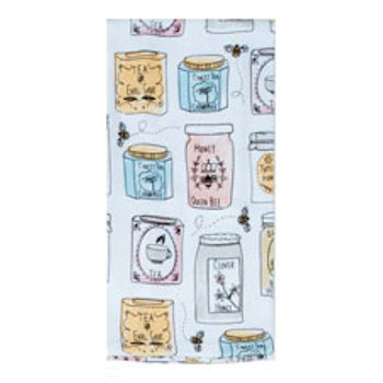 Bee Inspried Tea Towel
