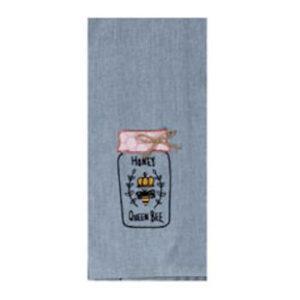 Bee Inspired Emb Tea Towel