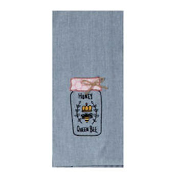 Bee Inspired Emb Tea Towel
