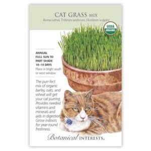 Cat Grass Mix Seeds ORG