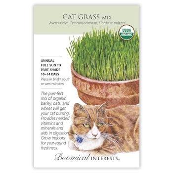 Cat Grass Mix Seeds ORG