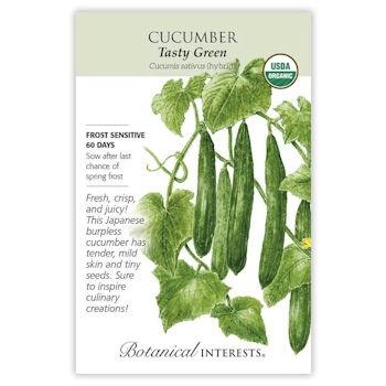 Tasty Green Cucumber Seeds ORG