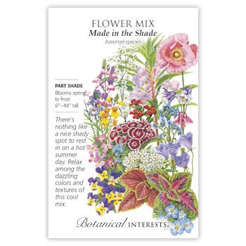 Made in the Shade Flower Mix Seeds