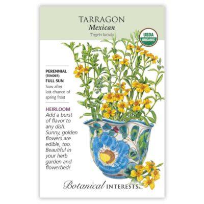 Mexican Tarragon Seeds ORG, Heirloom